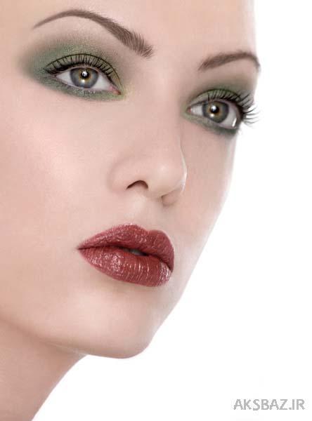 مدل آرایش صورت و ابرو reza1372.mihanblog.com