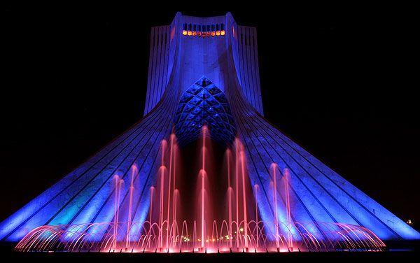 زیبایی شب های تهران